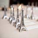 Eiffel Tower Silver-Finish Place Card/Holder