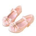 Girl's Closed Toe Leatherette Flower Girl Shoes With Bowknot (207220335)