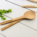 Vintage Personalized Wooden Spoons (Set of 5)