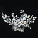 Ladies Pretty Rhinestone/Alloy Combs & Barrettes With Rhinestone