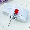 Choice Red Crystal Long Stem Rose (Sold in a single piece)