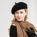 Ladies' Glamourous/Romantic/Vintage Polyester Beret Hats