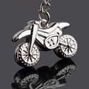 Classic Cool Motorcycle Design Zinc alloy Keychains (Set of 4)
