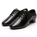 Women's Microfiber Leather Sneakers Modern With Lace-up Dance Shoes