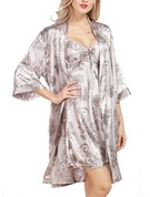 Silk Bride Bridesmaid Mom Floral Robes