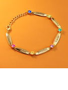 Name Bracelets Birthstone Bracelets With Kid's Names Birthstone -