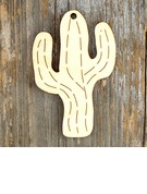 Creative Gifts Creative Wooden (Set of 10) Gifts Cutouts Ornaments