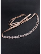 Beautiful Alloy Belt With Rhinestones