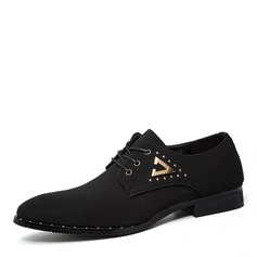 Men's Cloth Lace-up Casual Work Men's Oxfords
