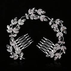 Gorgeous Alloy With Rhinestone Ladies' Hair Jewelry (011146997)