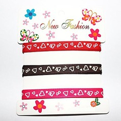 2/5-Inch Satin Ribbon(Three Color One Card)