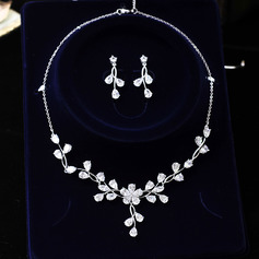 Unique Rhinestones Women's Jewelry Sets (Set of 3) (137151905)