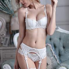 Bridal/Feminine Beautiful Butterfly Chinlon Lingerie Set