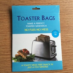 Modern Classic Treats Non Stick Reusable Toaster Bags for Sandwich and Grilling (Set of 3) Non-personalized Gifts
