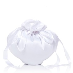 Lovely Satin With Bowknot Bridal Purse