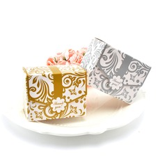 Forever Love Cuboid Card Paper Favor Boxes