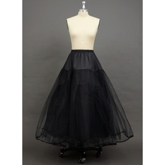 Women Tulle Netting Floor-length 3 Tiers Petticoats