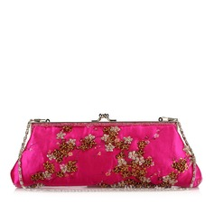 Charming Satin With Beading/Sequin Clutches