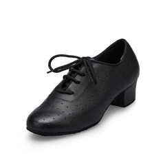 Men's Leatherette Heels Pumps Latin Dance Shoes