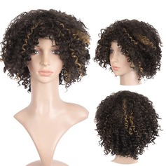 Curly Bob Synthetic Wigs African American Wigs