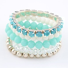 Beautiful Resin Ladies' Fashion Bracelets (Set of 5)