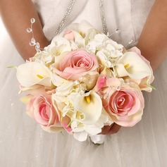 Classic Free-Form Satin Bridal Bouquets (Sold in a single piece) - Bridal Bouquets