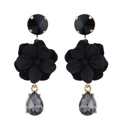 Classic Alloy Acrylic Women's Fashion Earrings