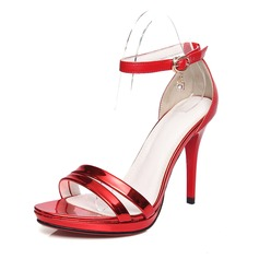 Women's Real Leather Stiletto Heel Sandals Pumps shoes