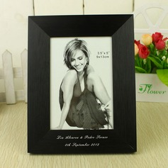 Personalized Elegant Swan Aluminum Photo Frame