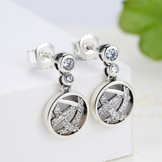 Beautiful Silver Ladies' Fashion Earrings