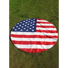 American flag beach towel scarf (diameter:147)