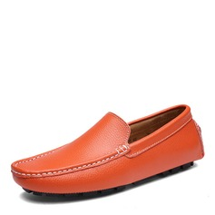 Men's Real Leather Boat Shoes Casual Men's Loafers (260209772)
