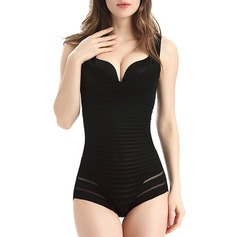 Women Sexy/Elegant Chinlon/Nylon Breathability Bodysuit Shapewear