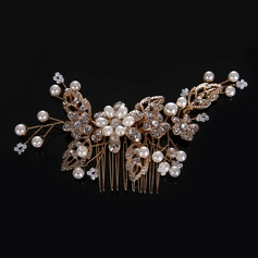 Ladies Classic Crystal/Rhinestone/Alloy/Imitation Pearls Combs & Barrettes