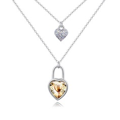 Elegant Alloy/Crystal Ladies' Necklaces