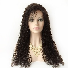 Curly Human Hair Wigs Lace Front Wigs