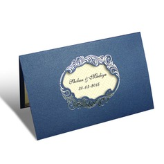 Personalized Artistic Style Top Fold Invitation Cards
