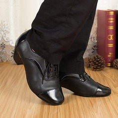Men's Real Leather Heels Sandals Latin Ballroom Practice Character Shoes Dance Shoes