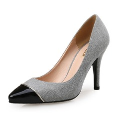 Women's Fabric Stiletto Heel Pumps shoes