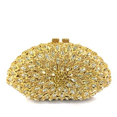 Attractive Crystal/ Rhinestone/Alloy Luxury Clutches