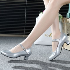 Leatherette Heels Pumps Latin Modern With Buckle Dance Shoes