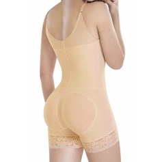 Women Sexy/Honeymoon Cotton Blends Bodysuit Shapewear