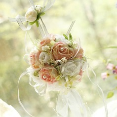 Pretty flower ball for home decoration