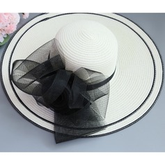 Ladies' Special/Elegant/Fancy Raffia Straw With Imitation Butterfly Beach/Sun Hats