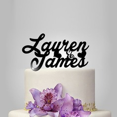 Personalized Acrylic Cake Topper