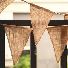 Simple/Classic/Triangle Lovely/Elegant Linen Wedding Ornaments