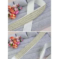 Gorgeous Ribbon Sash With Rhinestones