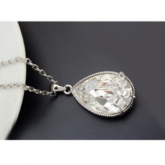 Alliage Cristal Dames Collier de mode