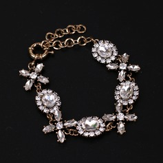 Nice Alloy Gold Plated With Imitation Stones Ladies' Fashion Necklace
