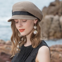 Ladies' Classic/Elegant/Simple/Vintage/Artistic Papyrus Beach/Sun Hats (196205772)
